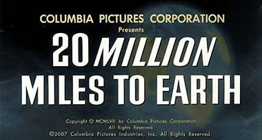 20 Millions Miles to Earth title