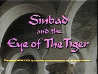 Sinbad and the Eye of the Tiger title