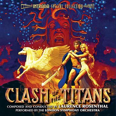 The Clash of Titans CD