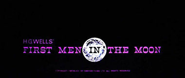 First Men in the Moon title