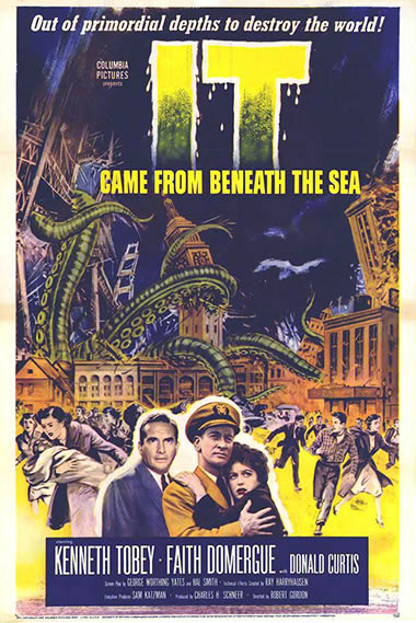 It Came From Beaneath the Sea one sheet