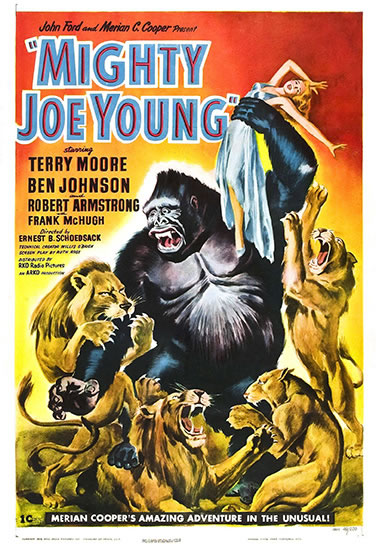Mighty Joe Young one sheet
